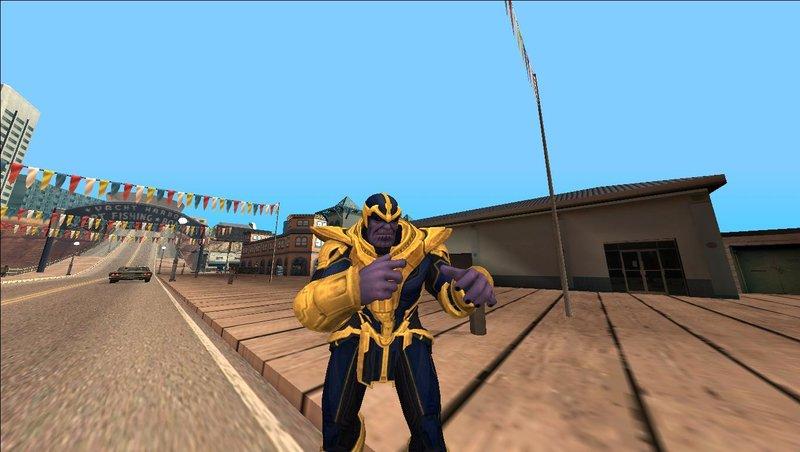 GTA San Andreas Thanos Strike Force Mod - GTAinside com