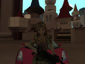 Link And Zelda Skin Mode (Twilight Princess) + Weapon Package