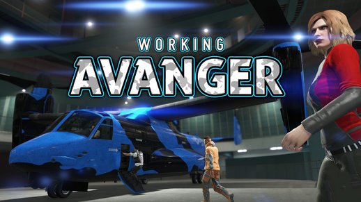 Working Avenger in SP 1.2