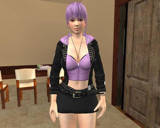 Ayane [Casual Battle] From Dead or Alive 5 Last Round