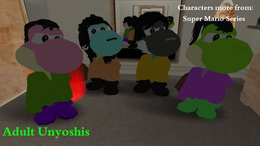 The Adults Un-Yoshis