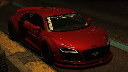 Audi R8v10 Liberty Walk [Add-on]