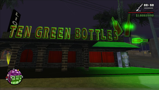 New Ten Green Bottles + Bar Interior