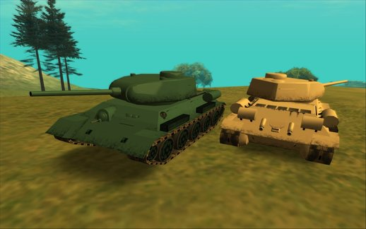 T-34-85 (SA Style/Low Poly)