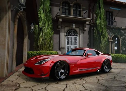 Dodge Viper SRT RGMODS Replace