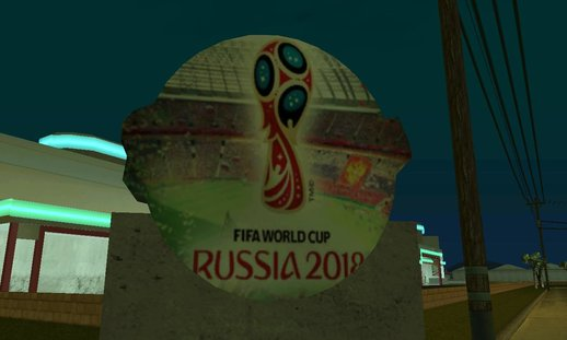 FIFA World Cup Rusia 2018 Stadium