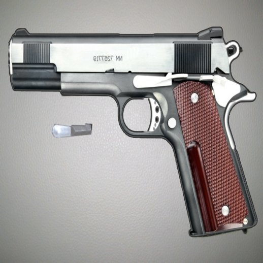 Big Boss Custom M1911A1 from Metal Gear Solid 3 for Mobile