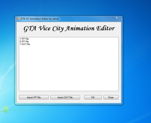 GTA VC Animation Editor