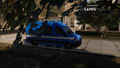 Portuguese Air Force Ambulance - Health Directions DS - Mercedes-Benz Sprinter [AddOn / Livery] v1.0