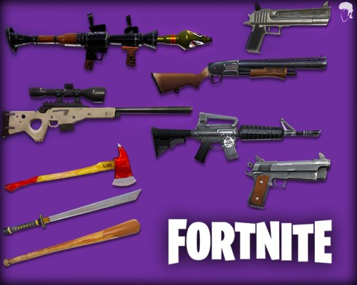 Fortnite Weapons Pack #1