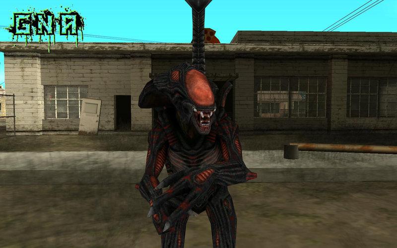 GTA San Andreas Berserker Alien AVPE Mod - GTAinside com