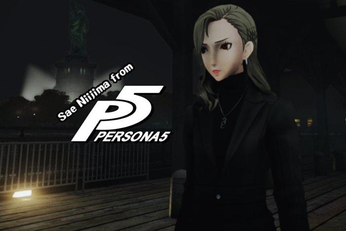 GTA 4 Sae Niijima (Persona 5) Mod - GTAinside com
