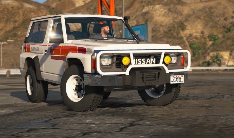 GTA 5 Nissan Patrol Super Safari Y60 1997 SWB [Add-On