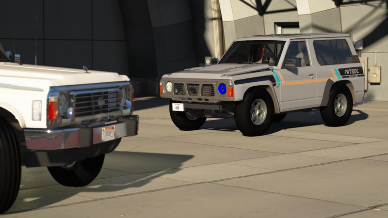 GTA 5 Nissan Patrol Super Safari Y60 1997 SWB [Add-On