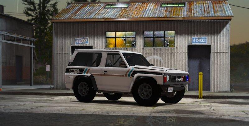 GTA 5 Nissan Patrol Super Safari Y60 1997 SWB [Add-On | Replace