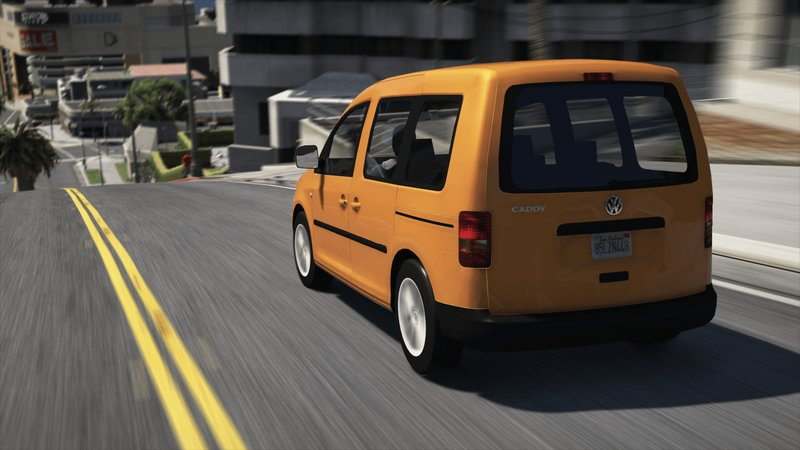 gta 5 volkswagen caddy add on replace unlock mod. Black Bedroom Furniture Sets. Home Design Ideas