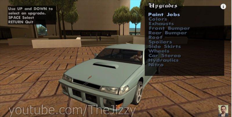 GTA San Andreas Pimp My Car Final Version Mod Mod