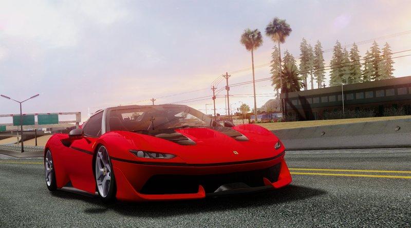 GTA San Andreas Ferrari J50 Mod - GTAinside.com Ferrari J Rr on