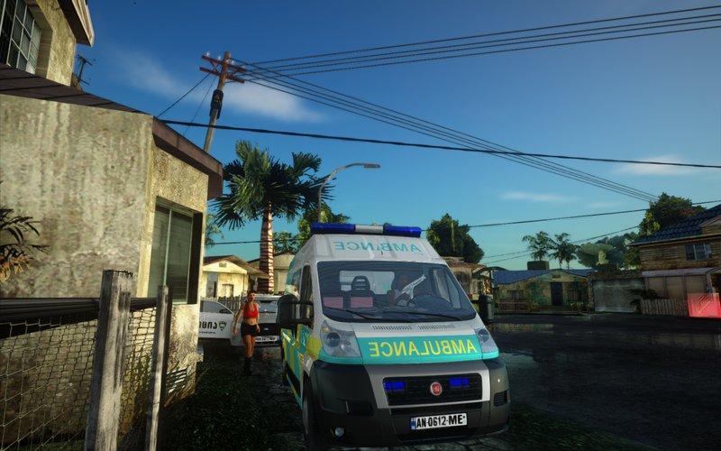 "GTA SA ""Geo Ambulan Fiat Ducato"""