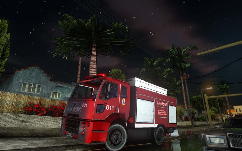 "GTA SA ""Geo FIRETruck Ford Cargo"""