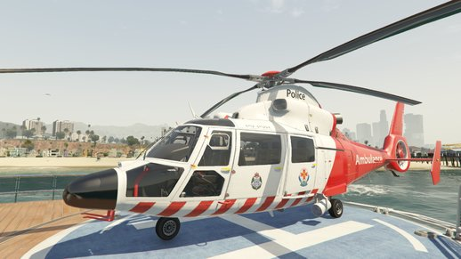 Eurocopter AS-365 Air Ambulace v2 (add-on)