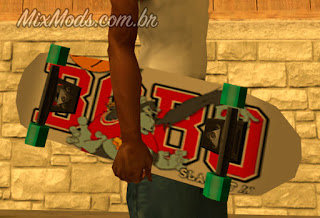 Skateboard Mod (weapon as well as vehicle)