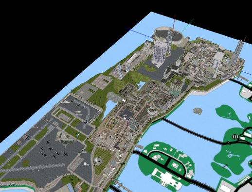 Complete Island from Downtown to North Airport
