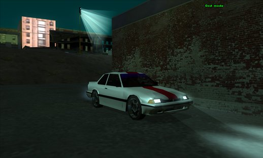 Honda Prelude Low-poly