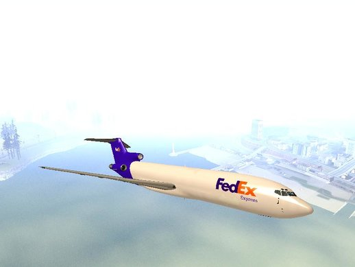 Boeing 727-200 FedEx GTA San Andreas