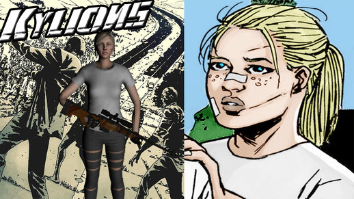 The Walking Dead Andrea Comic