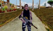 GTA Online Female Skin With Normal Map