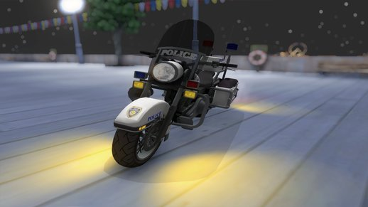 GTA TBoGT Police Bike