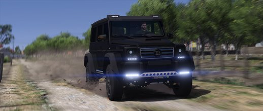 Mercedes-Benz G500 4x4 Brabus [Replace]