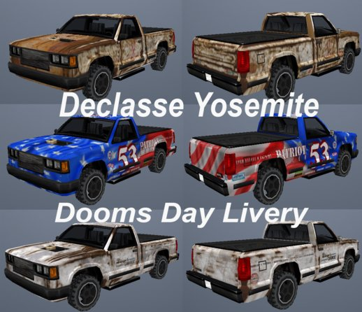 Declasse Yosemite Liveries