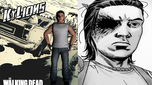 The Walking Dead Carl Grimes Comic