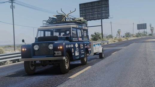 1971 Land Rover Series II Model 109A HQ [Add-On] [Template/Liveries] [Dirt Mapping]