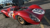 1967 Ferrari 330 P4 [Add-On | LODs | Template | RHD]