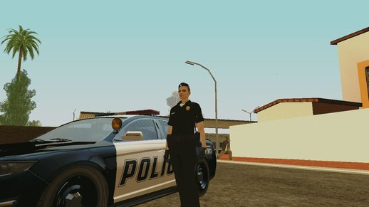 GTA Online Female Random Skin #3  C.R.A.S.H officer