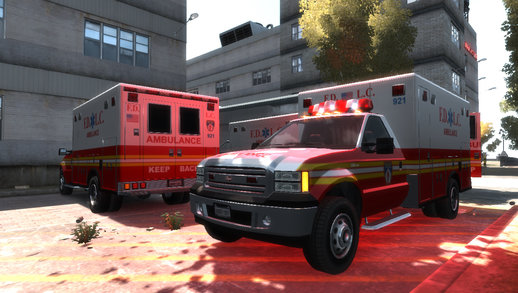 Vapid Sadler Ambulance [Non-ELS] [UV Mapped]