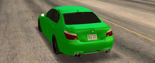 BMW M5 low-poly (1MB) HQ mod