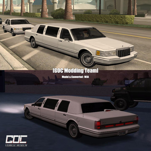 1991 Lincoln Towncar Limo