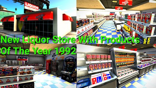 New Liquor Store With Products Of The Year 1992