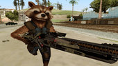 Marvel Future Fight - Rocket Raccon (Infinity War)