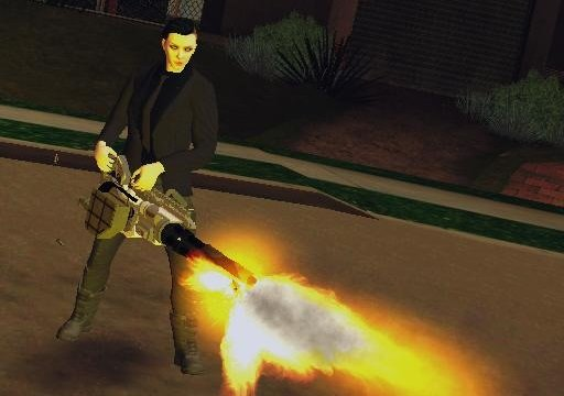 Gta San Andreas Call Of Duty Black Ops 3 Death Machine V1 Mod