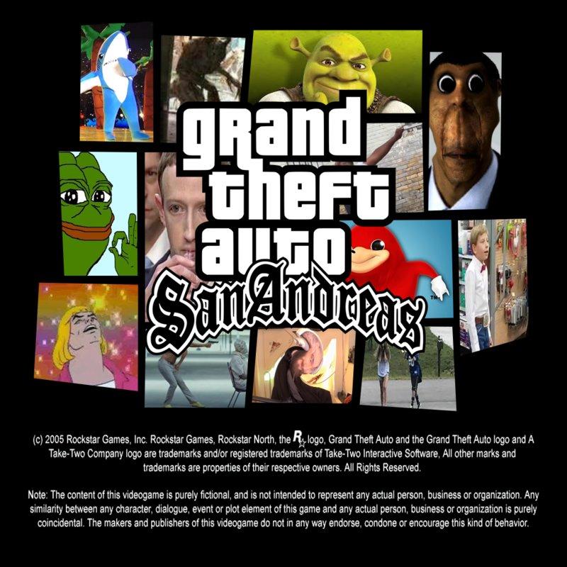 Gta San Andreas Facebook Mems: GTA San Andreas Memes Menu & Random Things Mod