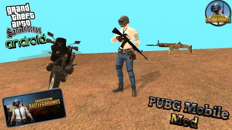 GTA San Andreas Pubg Mobile to San Android Mod - GTAinside com