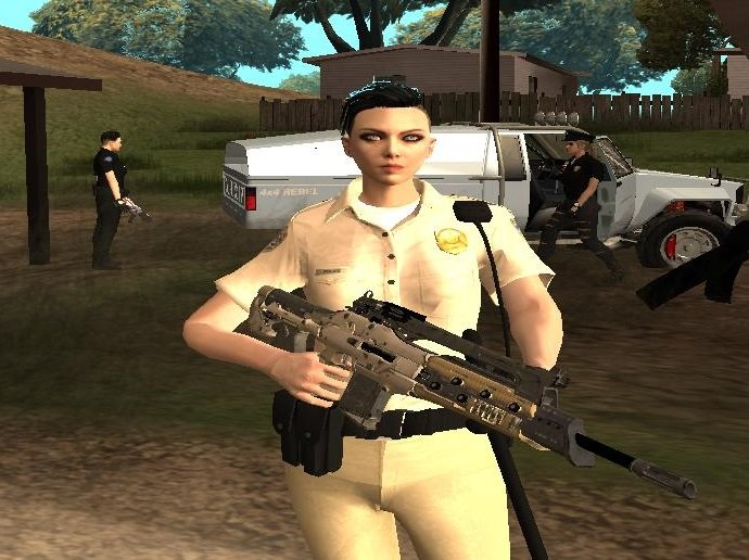 GTA San Andreas GTA Online Random Skin # 5: Sahp Female