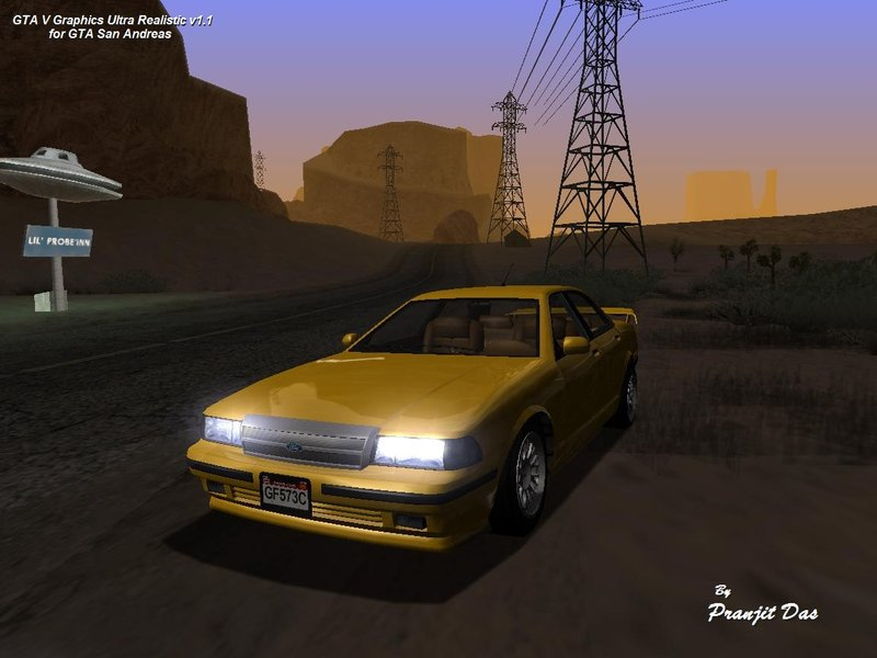 GTA San Andreas GTA V Graphics Ultra Realistic (Medium PC) v1 1 Mod