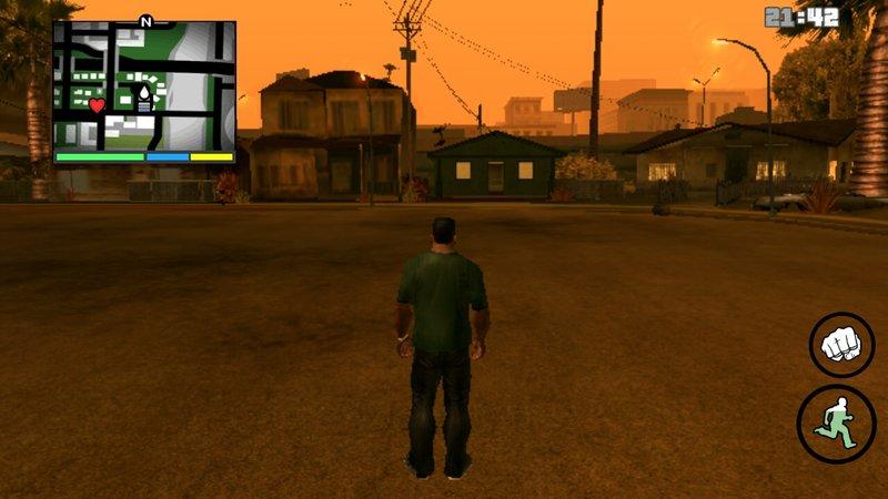 GTA San Andreas GTA V Hud And Weapon Wheel Mod for SA Mobile