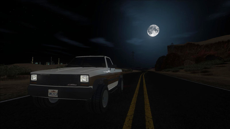 GTA San Andreas GTA V BETA Declasse Rancher 2-doors Mod
